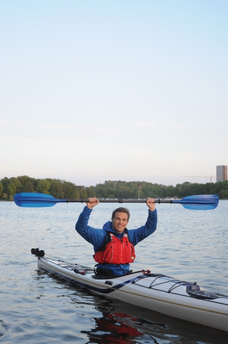 Peter Svanberg kajak kayak paddling havspaddlarnas blå band HBB